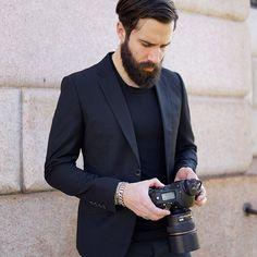 Adam Katz Sinding portrayed by Yvan Rodic @facehunter #le21eme #adamkatzsinding #facehunter #fashion #fw14 #fashionweek #antonymorato #talesofstyle