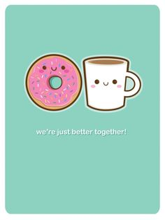 Coffee and Doughnut  Happy National Donut Day :)