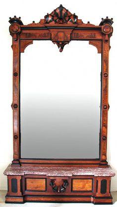Antiques Whatnot Collectors Shelving 100% Original Antique Furniture Antique Edwardian Mahogany Wall Mounted Shelves