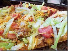 Taco Pizza...Ah-Mazing!