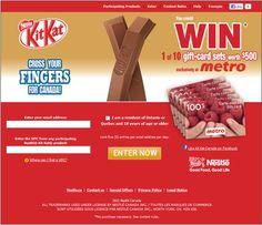 Nestle Metro Kit Kat Contest Site