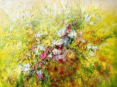 Flower Paintings Flower Art Floral Art For Sale Flower Paintings