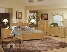 Best 21 Best Tropical Rattan And Wicker Bedroom Furniture 400 x 300