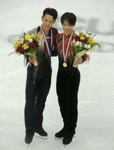 With Tatsuki Machida(JAPAN) : Cup of China 2012