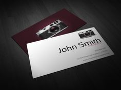 Photography business card photography business cards and business how to print your own business cards cards designs ideas wajeb Choice Image
