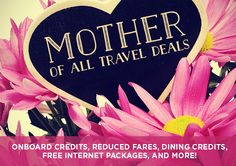 Your Mom called... she needs a vacation!  Make her day extra special with a vacation getaway! #CruisePlanners
