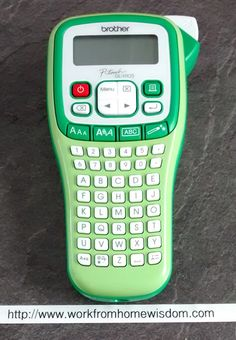 Brother GLH105VP Handheld Garden Labeller - good for both home office and garden, says our reviewer - http://www.workfromhomewisdom.com/product-reviews/office-product-reviews/brother-glh105vp-handheld-garden-labeller/