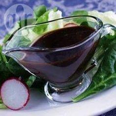 Molho de vinagre balsâmico com mel @ allrecipes.com.br