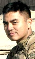 Army CW2 Don C. Viray, 25, of Waipahu, Hawaii. Died April 19, 2012, serving during Operation Enduring Freedom. Assigned to 2nd Battalion, 25th Aviation Regiment, 25th Combat Aviation Brigade, 25th Infantry Division, Wheeler Army Airfield, Hawaii. Died of injuries sustained when the Black Hawk (UH-60) helicopter he was in crashed in Garmsir, Helmand Province, Afghanistan, during a night mission in bad weather enroute to assist in medevac of wounded Afghan police officers.