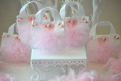 Items similar to Small Ballerina Tutu Tote Bags - Princess Tutu Tote Bags on Etsy Ballerina Party Favors, Ballerina Tutu, Birthday Party Background, Princess Tutu, Gold Baby Showers, Purse Patterns, Ballerinas, Princesses, Pink White