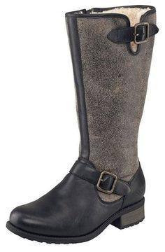 UGG® Australia - Chancery - Damen Stiefelette, Farbe:black;Größe:US 6 / EUR 37 - Stiefel für frauen (*Partner-Link)