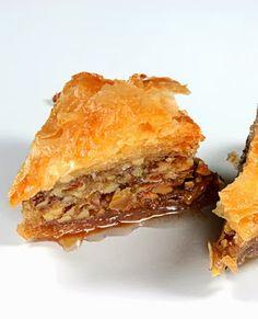 Baklava, Delicious Dessert with Walnuts