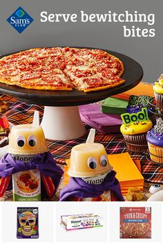 Treat all your ghouls and goblins to a spooky bash with food trays, pizza, cookies, candy and more from Sam's Club. Shop now.