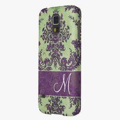 It's cute! This Vintage Damask Pattern with Monogram Cases For Galaxy S5 is completely customizable and ready to be personalized or purchased as is. Click and check it out!