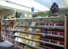 Jolly Holiday 2015 display at the Temecula Public Library Teen Zone