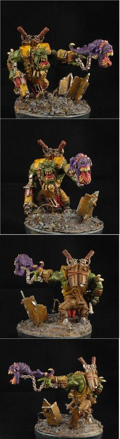 Ork Warboss with Squig
