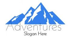 Free blue mountain logo made with our free online logo maker. Many designs available.