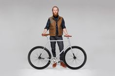 Get the bike, copy the look, cruise the crosswalks. Job done    Need Supply Co. x Carytown Bicycle Co. City Bike