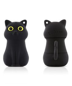 This Black Cat 8 GB USB Drive & Changeable Cover by Bone is perfect! #zulilyfinds