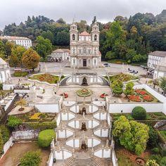 Bom Jesus do Monte, Braga, Portugal:)