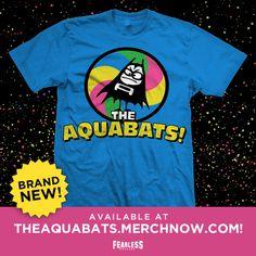 #TheAquabats NEW T-shirt www.MerchNow.com