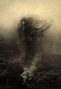 As sombrias e surreais manipulações digitais de fotografias de Yaroslav Gerzhedovich
