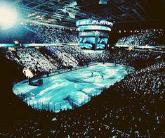 San Jose Sharks - The Shark Tank Excellent hockey Rink and good fans. San Jose Sharks, Ice Hockey Teams, Hockey Stuff, Men's Hockey, Hockey Wife, Hockey Rules, Shark Tank, Tank I, Hockey Season