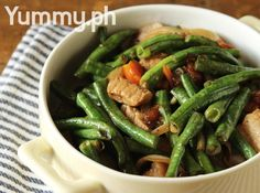 Adobong Sitaw (Adobo-style String Beans) Recipe