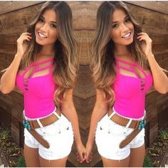 Women Sexy Summer Vest Camisole Tank Top Sleeveless Blouse Shirt Clubwear #Unbranded #TankCami #Clubwear
