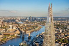Aerial views of London by Jason Hawkes