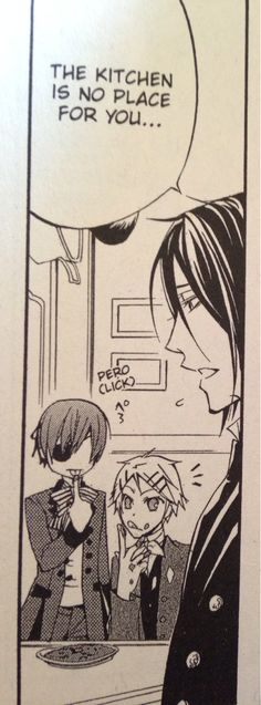 Ciel FINALLY acting his age with Finny❤