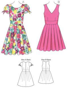 K3682 Misses Dress