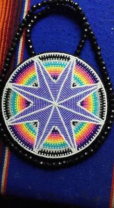 225 best medallions and rosettes images on Native American Patterns, Native American Design, Native American Crafts, Native Beadwork, Native American Beadwork, Bead Loom Patterns, Beading Patterns, Beading Ideas, Bead Embroidery Jewelry