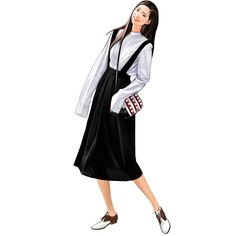 ArtStation - Fashion illust, jong hyun jeon Fashion Drawing Dresses, Fashion Illustration Dresses, Women's Fashion Dresses, Fashion Illustrations, Fashion Design Sketchbook, Fashion Design Drawings, Fashion Sketches, Tmblr Girl, Anime Dress