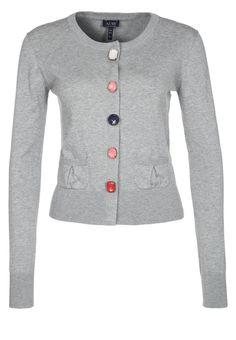 Giorgio Armani - Armani jeans Damer cardigan Grå melange ur dk