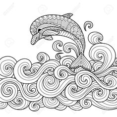 Coloring Book For Adults Images, Stock Pictures, Royalty Free ...