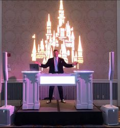Learn how DJ furniture can enhance the look of your Disney wedding!