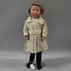 Kammer & Reinhardt 101 Bisque Head Pouty Doll | Sale Number 2654M, Lot Number 238 | Skinner Auctioneers