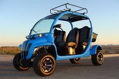 LIFTED GEM CAR 4 SEAT LIMO GOLF CART w/ EVERY POSSIBLE OPTION, ABSOLUTELY SWEET in Golf Cars (Electric & Gas) | eBay Motors