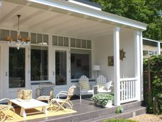 Bekijk deze afbeelding op verandaservice: Sfeervol terras