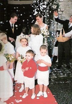 The wedding of count Wolfgang de Limburg Stirum and Martine Eykerman in Ohain (Belgium). They got married in the St Etienne church, by the parish priest, Christophe Pastuszak.
