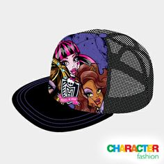 #CharacterFashion Monster High Trucker Cap