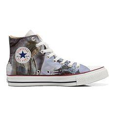Scarpe Converse All Star personalizzate (Prodotto Artigianale) con Bandiera Brasile - TG32 - http://on-line-kaufen.de/make-your-shoes/32-eu-converse-all-star-personalisierte-schuhe-9