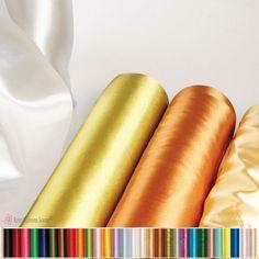 Σατέν μαλακό ύφασμα 50cm σε πολλά χρώματα Satin, Elastic Satin, Silk Satin