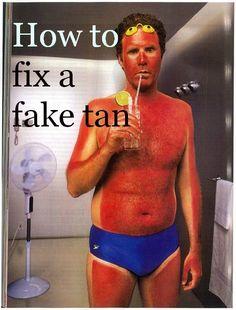 Bath Soak Recipe to remove Fake Tan