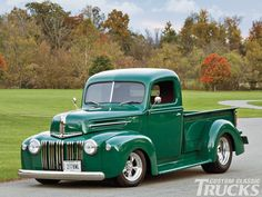 Dan Tesar built this 1947 Ford F-1 as a gift for his father after retirement, turning this classic truck into a beautiful resto mod.
