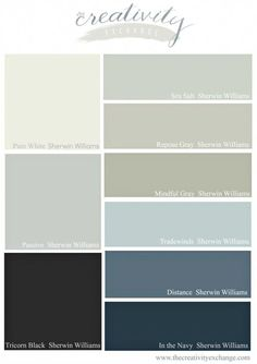 Sherwin Williams Grey Paint Colors Most Popular And Best Selling 2016 Sherwin Williams Paint Colors. Office Paint Colors, Bathroom Paint Colors, Kitchen Paint Colors, Popular Paint Colors, Best Paint Colors, Grey Paint Colors, Neutral Paint, Navy Color, Sherwin Williams Gray