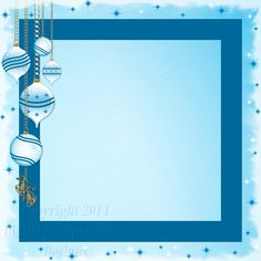 "Layout ST 1C.....Stacked Paper, Blue, Digital Scrapbooking, Christmas Time Collection, 12"" x 12"", 300 dpi, PNG File Format"