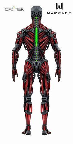 ArtStation - Concept_ SED/ WARFACE, Aleksandr Plihta Futuristic Armour, Futuristic Art, Futuristic Technology, Robot Concept Art, Armor Concept, Weapon Concept Art, Military Robot, Robot Parts, Gato Anime