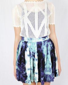 Evil Twin Dry Lightning Skirt - Skirts - Clothing - Birdmotel Online Store
